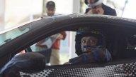 MotoGP: Valentino Rossi torna al volante della Ferrari