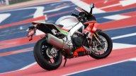 Moto - News: Biaggi lancia la Aprilia RSV4 RF LE