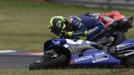 MotoGP: LA SEQUENZA. Le foto dello scontro di Marquez con Rossi