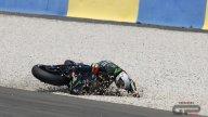 MotoGP: La caduta di Johann Zarco nel GP di Francia