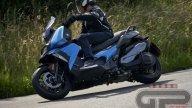 Test: BMW C 400 X: media superiore
