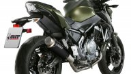 Moto - News: Mivv Delta Race e GP Pro per Kawasaki Z650 e Yamaha MT-07