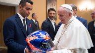 "MotoGP: Papa Francesco ai piloti: ""siate campioni nella vita"""
