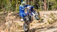 Moto - News: Yamaha WR450F 2019, la enduro si rinnova