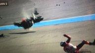 MotoGP: La terrificante caduta di Lorenzo a Buriram