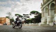 Moto - Test: BMW F 750 GS, la crossover alla prova della Città Eterna