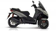 Scooter: Piaggio MP3 300 hpe: nuovo design e nuovo motore per il tre ruote