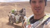 Dakar: Jacopo Cerutti distrugge la sua Husqvarna, gara finita!