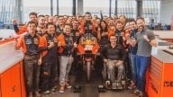 MotoGP: Dani Pedrosa in sella alla 'sua' KTM a Mattighofen
