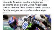 News: I piloti in lutto per la scomparsa di Marcos Garrido