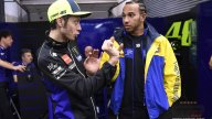 MotoGP: Rossi e Hamilton preparano lo scambio