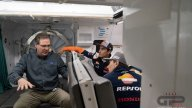 MotoGP: Marquez e Lorenzo, astronauti per un giorno