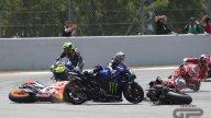 MotoGP: La sequenza della carambola innescata da Jorge Lorenzo a Barcellona