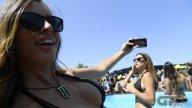 MotoGP: Le Monster Girl riscaldano Barcellona