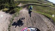 : Rossi e Dovizioso insieme sulla pista di cross di Cavallara