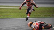 MotoGP: ESCLUSIVA: Le foto della caduta di Marquez nelle qualifiche di Sepang