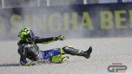 MotoGP: FOTO. Valentino Rossi concede il bis... di cadute