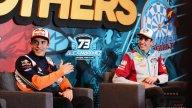MotoGP: Marc Márquez and brother Álex celebrate titles in Cervera