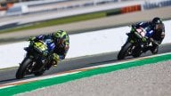 MotoGP: GALLERY. Tutte le foto di Rossi sulla Mercedes e Hamilton sulla Yamaha