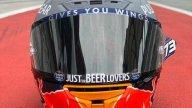 MotoGP: Alex Marquez presenta il suo nuovo casco in attesa di... Lorenzo