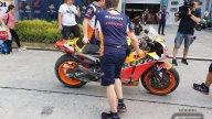 : Marc Marquez, prima caduta dell'anno nei day 2 dei test di Sepang