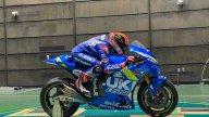 MotoGP: Le Suzuki di Rins e Mir disegnate dal vento