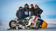 Moto - News: Indian Appaloosa v2.0, la dragster che sfida il ghiaccio