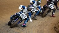 Moto - News: Tommy Hayden: a modern Flat Tracker built on a Yamaha MT-07 base