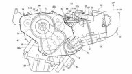 Moto - Gallery: Honda NC 850 2021, i brevetti