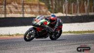 News: Tommaso Marcon porta in pista la Aprilia RS 250 SP ad Adria
