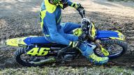 MotoGP: Valentino Rossi si allena col motocross a Fermignano