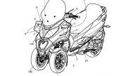 Moto - News: Piaggio brevetta l'aerodinamica attiva... Per il nuovo MP3