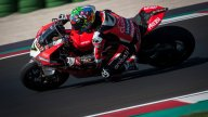 SBK: PHOTO MISANO TEST - Ducati MasqueradThe two riders of the Aruba team got back on their Panigale V4R on the circuit of Romagna.e Ball for Redding and Davies