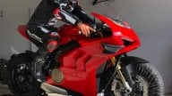 MotoGP: Johann Zarco di nuovo in pista con una Ducati Panigale V4S