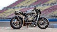 Moto - News: The Super: la Ducati 1199 Superleggera si spoglia per Roland Sands