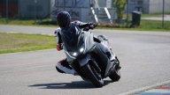 Moto - News: KYMCO AK 550 MY2020 con scarico Proma Performante