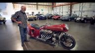 Moto - News: Follie: una custom con motore V12 Lamborghini!