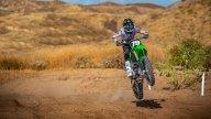 Moto - News: Kawasaki KX450 e KX250, le novità cross di Akashi