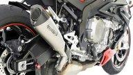 Moto - News: BMW S 1000 R: due nuovi scarichi da HP Corse