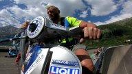 Moto - News: Follie: a pendolo dalla diga con la Vespa! Lui è Günter Schachermayr
