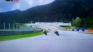 MotoGP: VIDEO DRAMMA SFIORATO la collisione di Zarco-Morbidelli a 300 Km/h