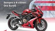 Moto - News: Honda: il MY 2021 regala l'EURO5 alle CB650R e CBR650R
