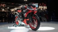 Moto - News: Aprilia Tuono 660, le prime immagini su strada