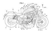 Moto - News: Honda Rebel 1100, ecco i disegni dei brevetti