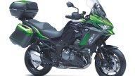 Moto - News: Kawasaki Versys 1000 S e SE 2021, ampliata la famiglia crossover