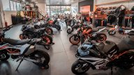 Moto - News: KTM: Giglioli Motori a Rozzano compie 40 anni e si rifa il look