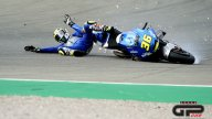 MotoGP: FP2: Joan Mir under pressure: here is his crash at curve 4