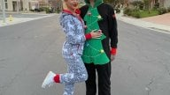 SBK: Scott Redding takes off his suit and becomes a Christmas tree!