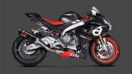 Moto - News: Aprilia RS 660: con l'Akrapovic la musica cambia