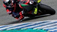 MotoGP: Jerez: first photos of Andrea Dovizioso on the Aprilia RS-GP